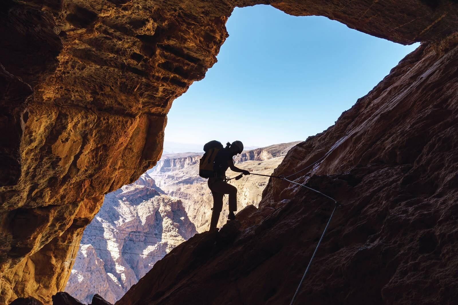 - The Alila Experience's Cave Adventure Via Ferrata in Oman is for the adventurous