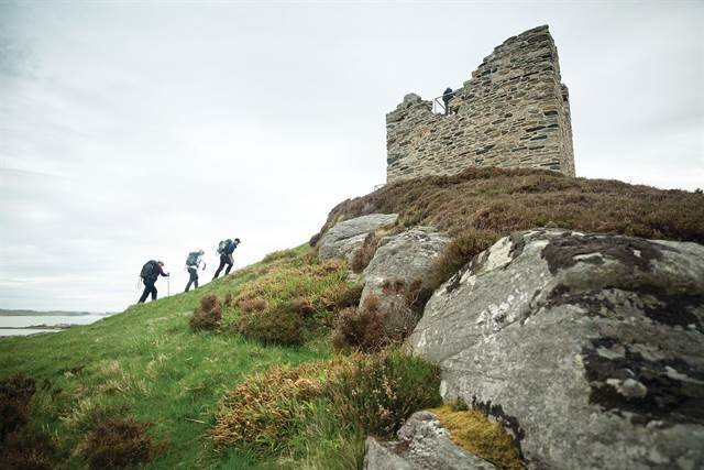 - A Wilderness Scotland tour through beautiful scenery and ruins on the North Highlands Coast