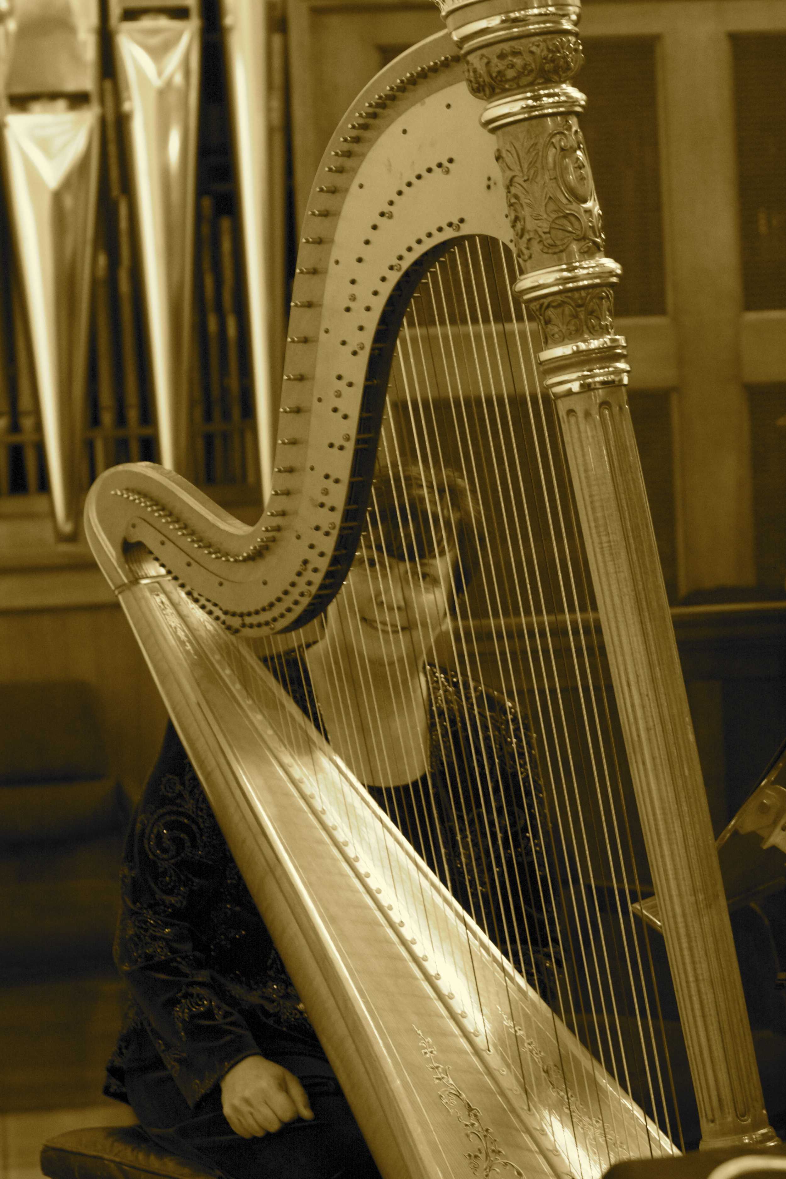 harp and organ combo - one of my favorites -