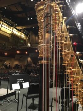 Finishing up at Folsom Symphony Harris Center