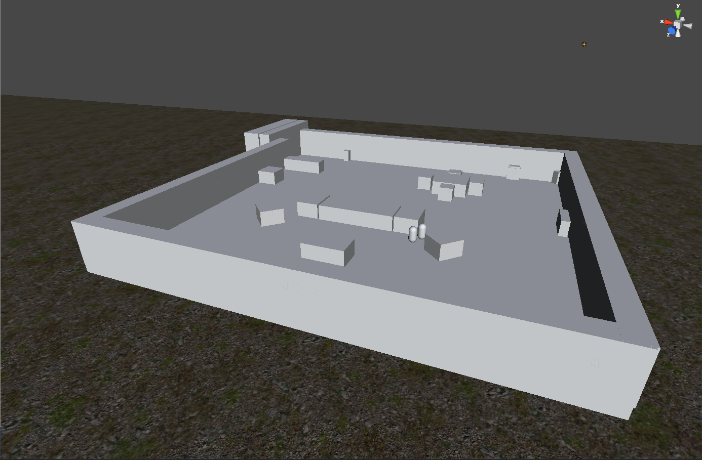 Example level layout