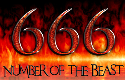 rev. 13 - the number of the beast