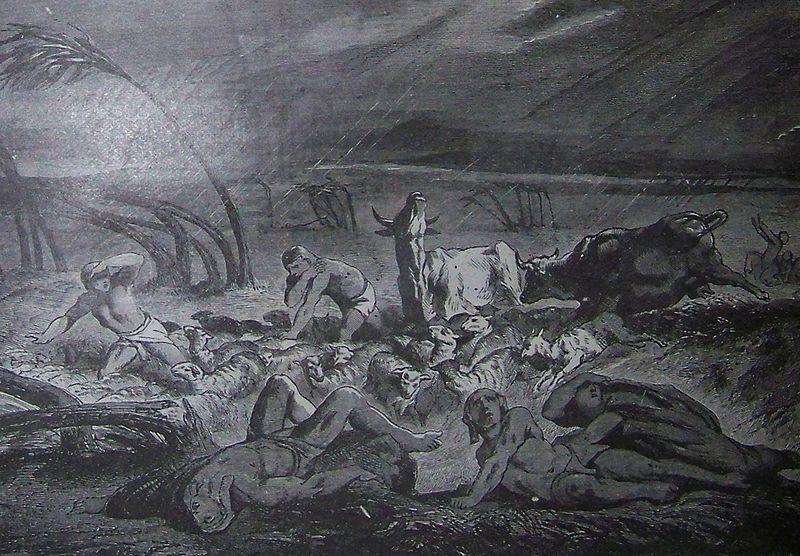 rev. 16.21 - the plague of hail
