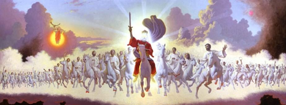 rev. 19.11 - armies of heaven