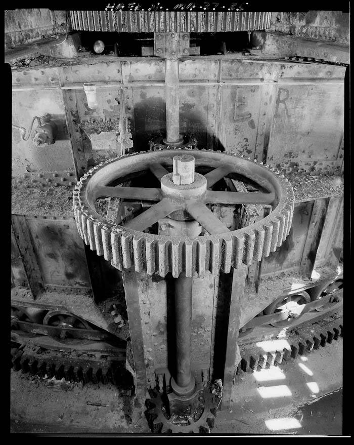Fort Point Channel Bridge Gears, by HAER