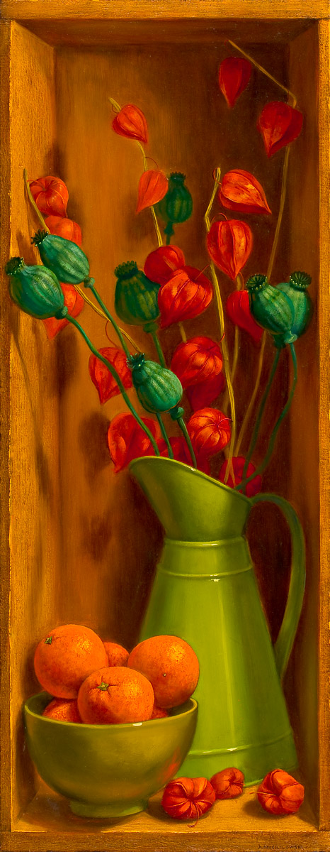 Painting by: Denise Mickilowski