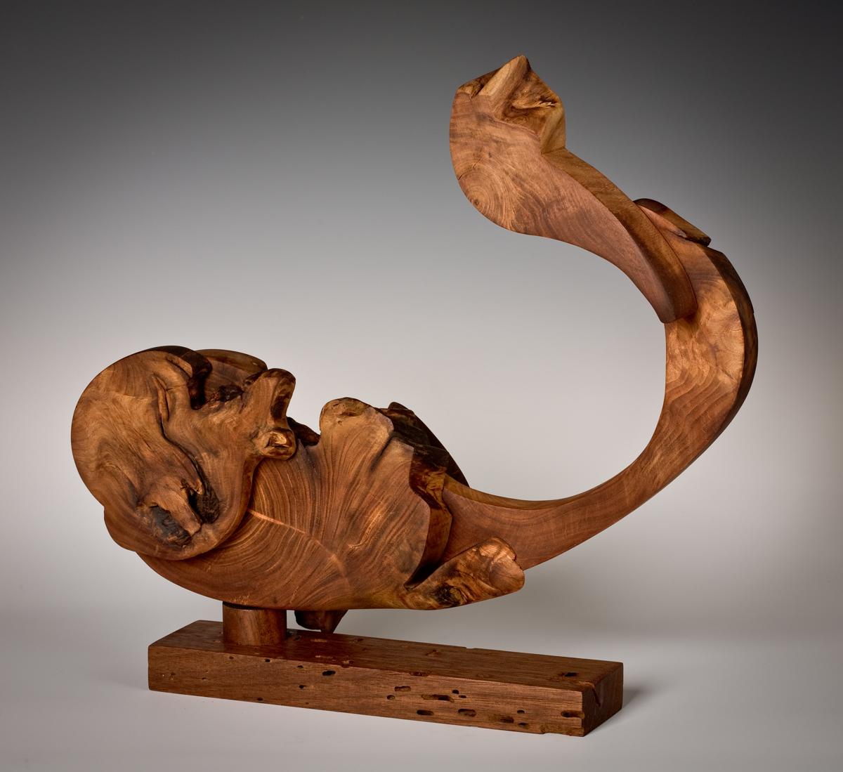 Wood Sculpture by: Barbara barss