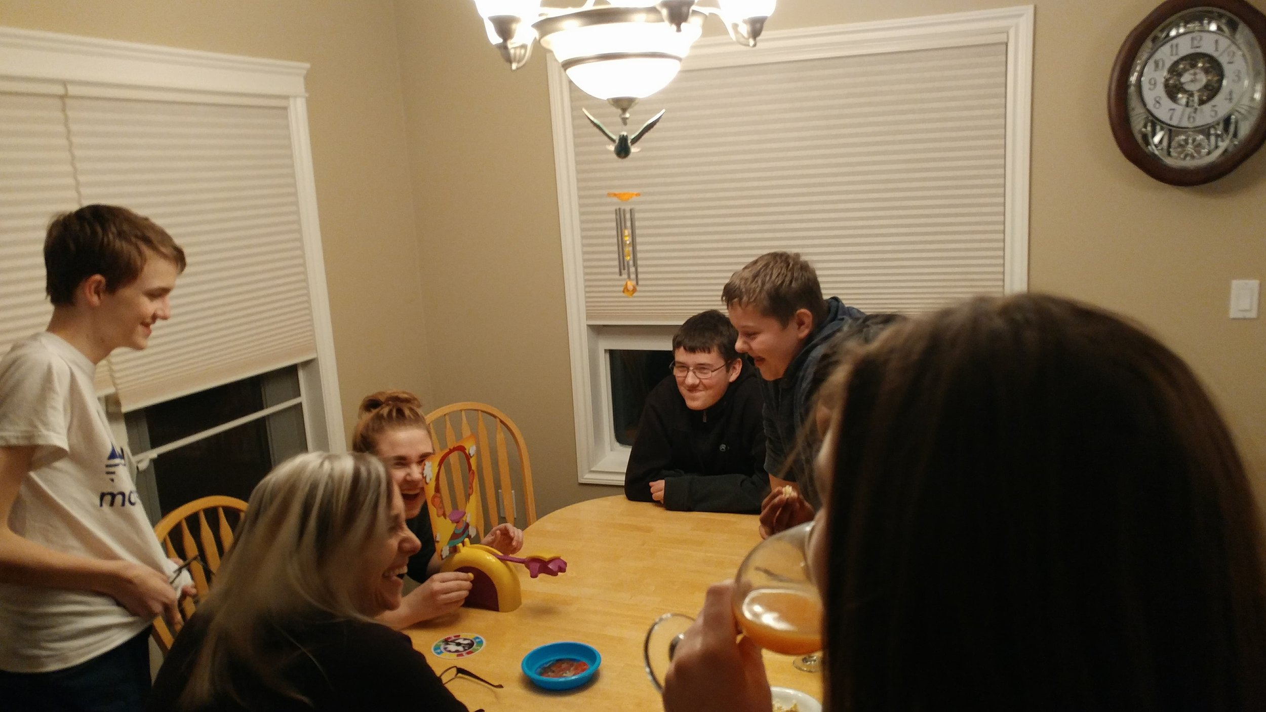 Game Night at Pastors House