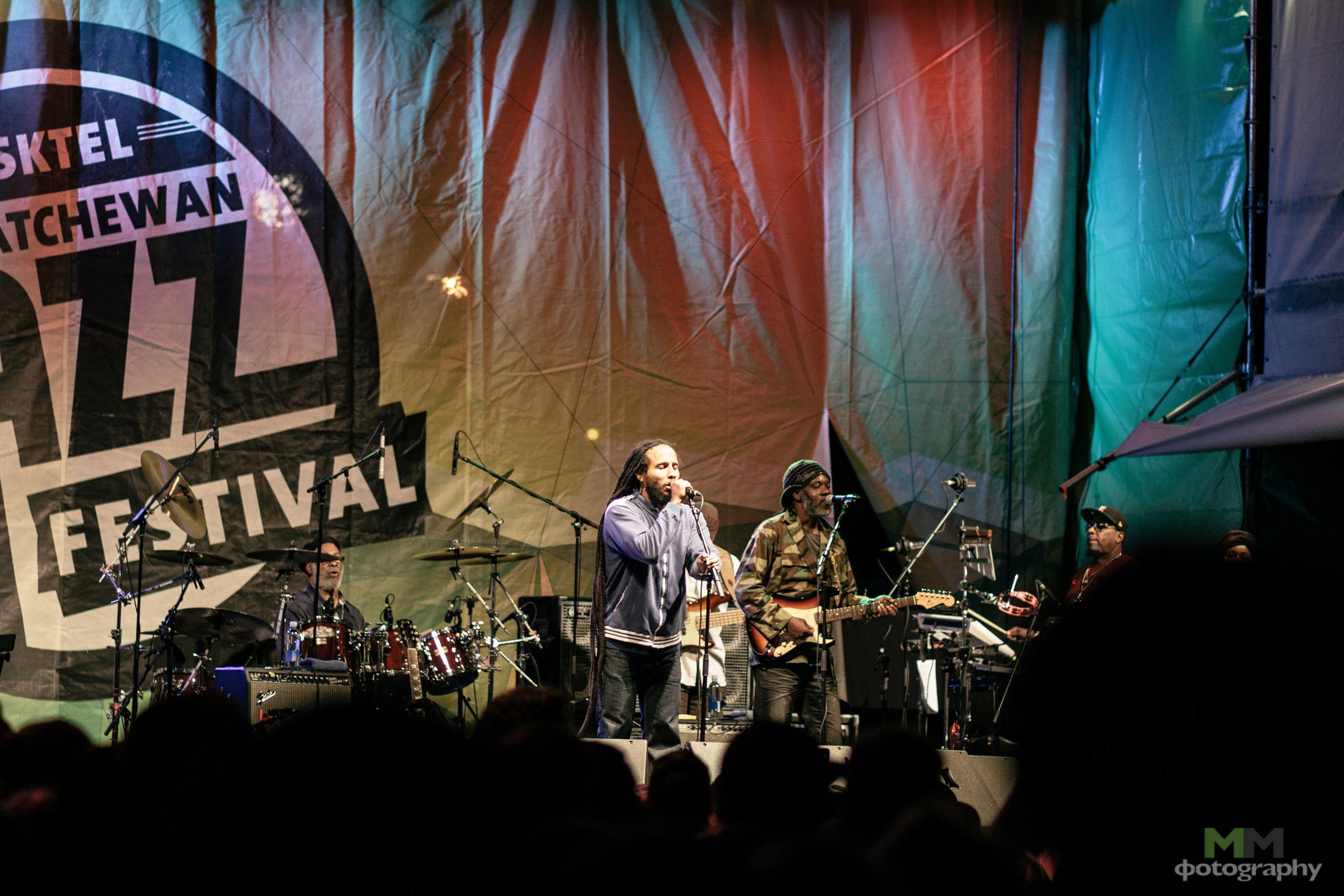 Ziggy Marley - SaskJazzFest2013