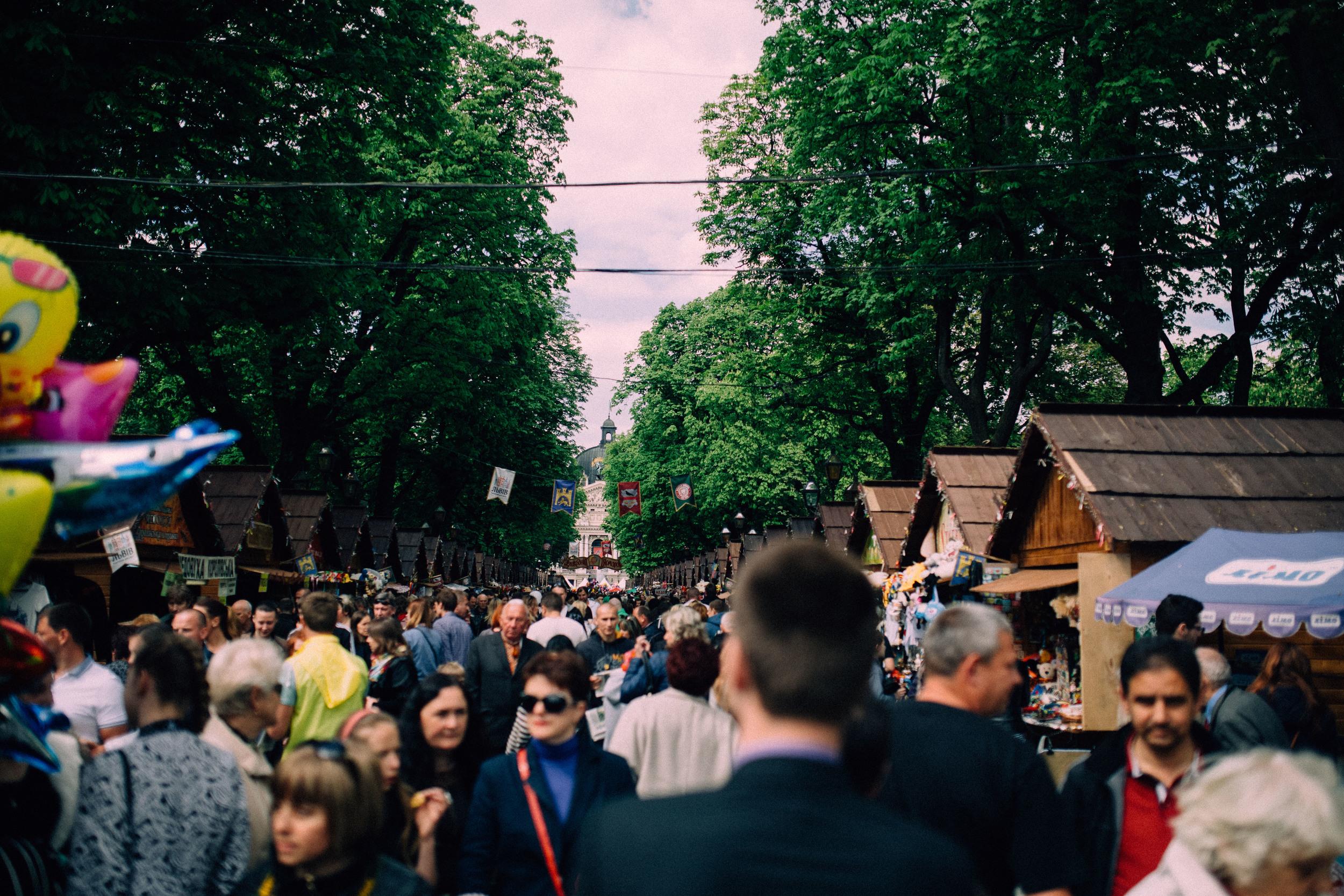 City Day, Lviv Ukraine