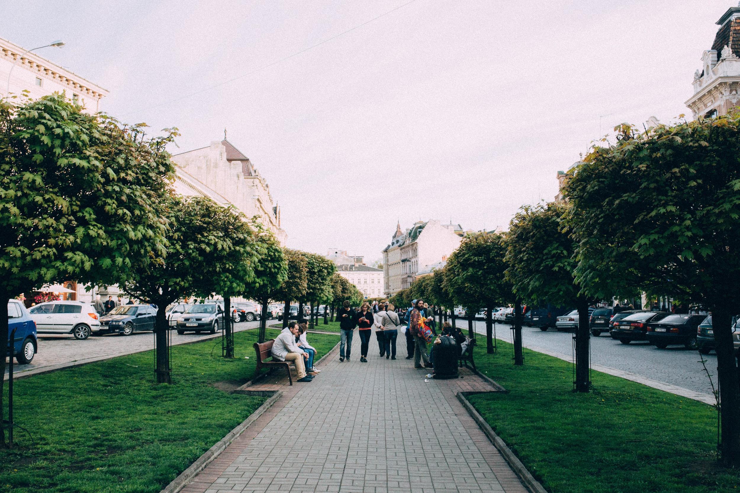 City Centre, Lviv, Ukraine