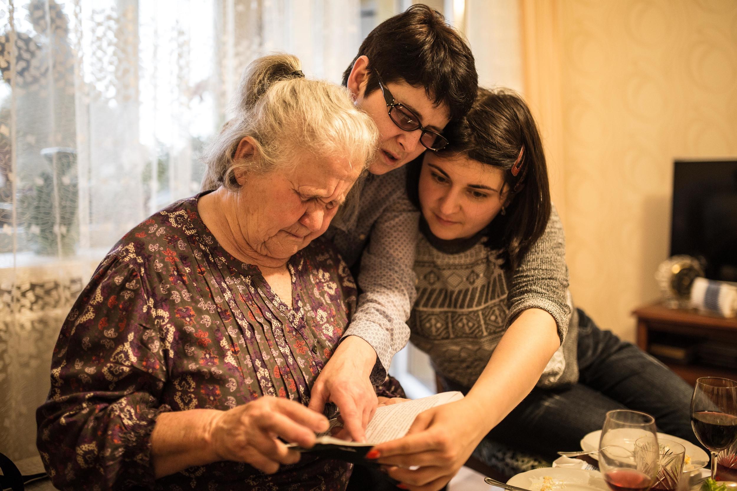 Katya, Marusia, Oksana.