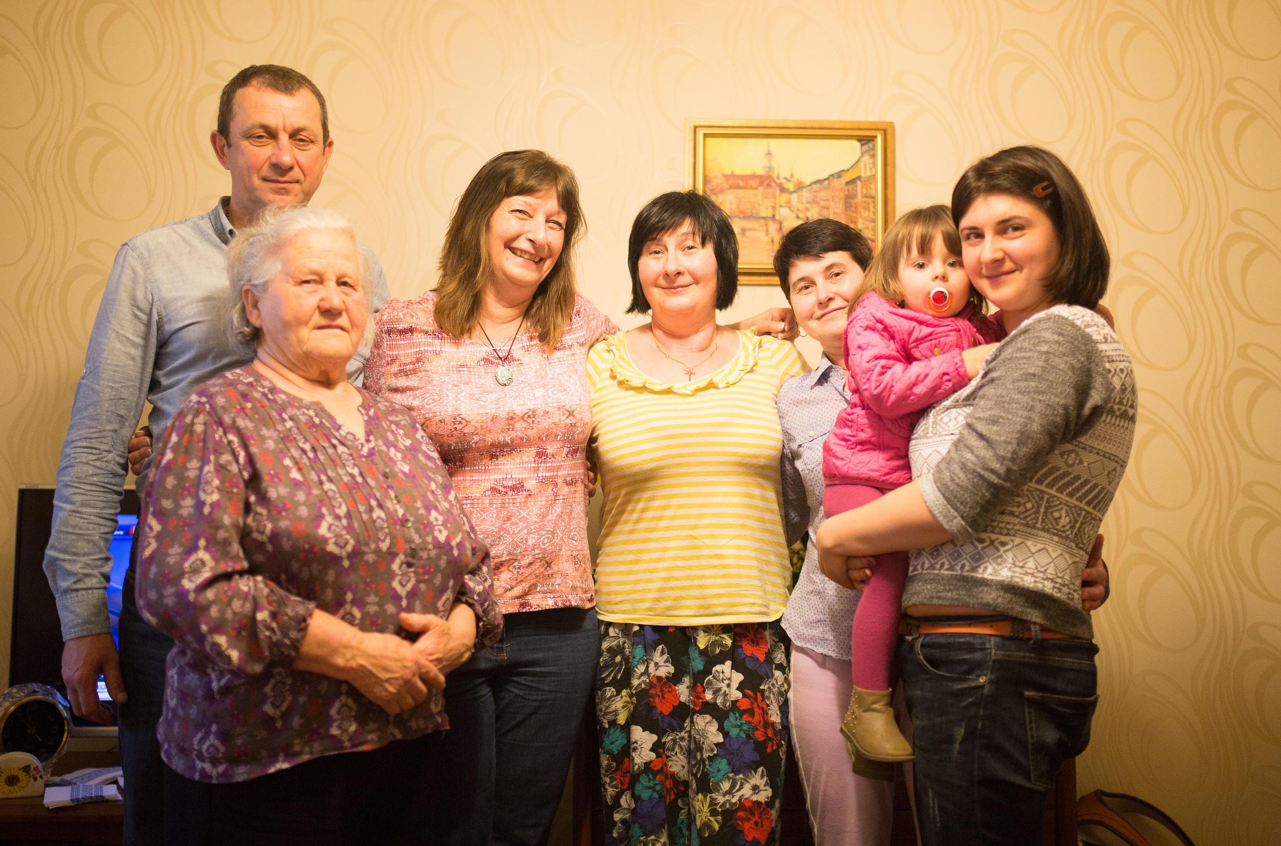 Katya, Vira, Marusia, Roxalana, Oksana.