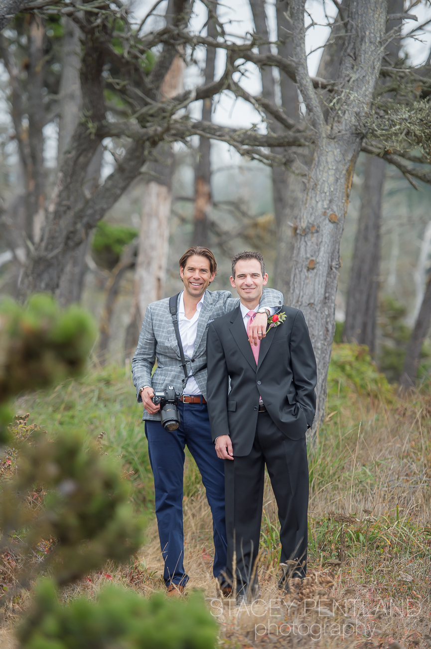 My husband, Erik, and his good friend, Justin. Thanks Erik for assisting me in capturing the day.