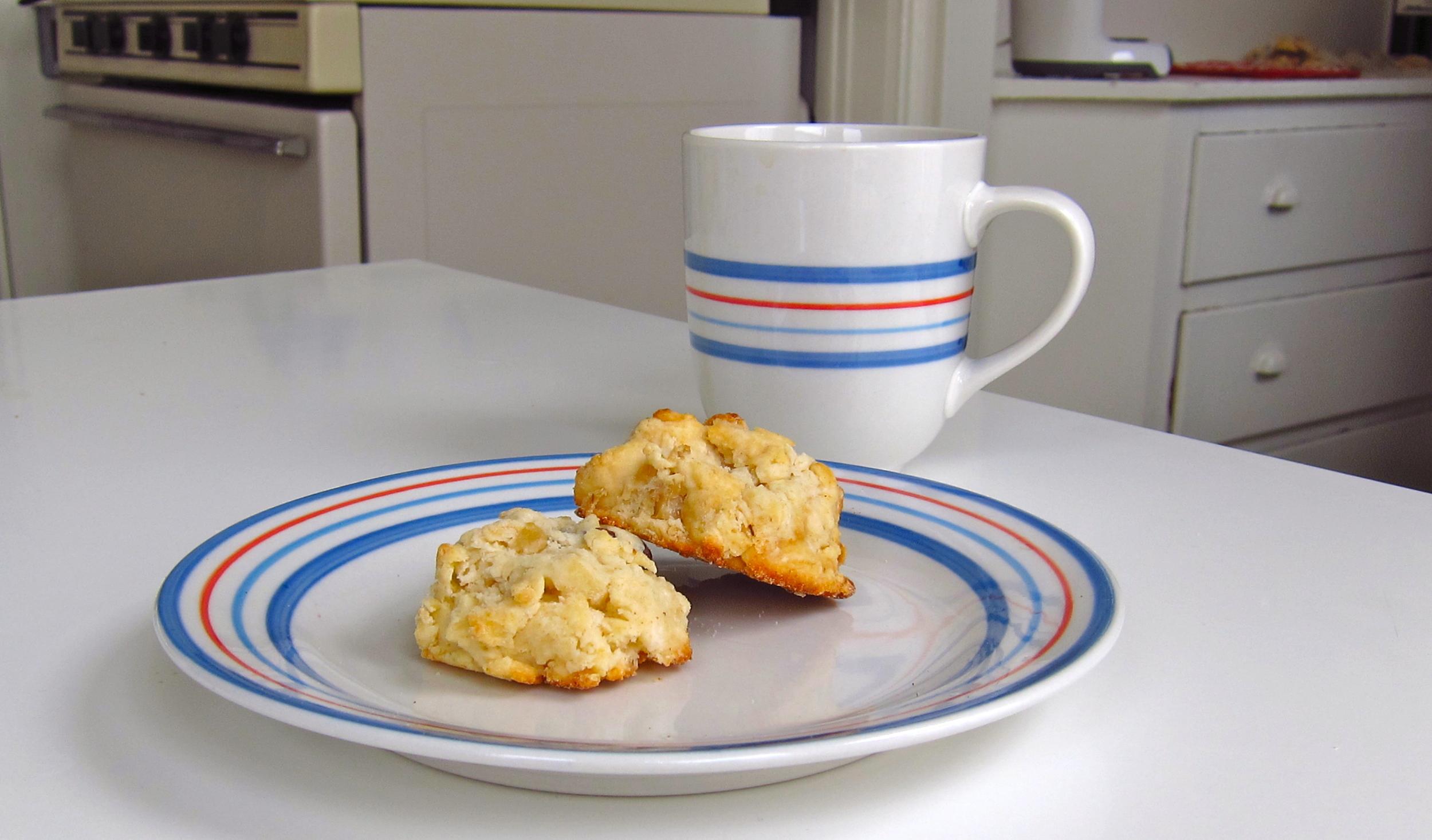Cream scones and tea
