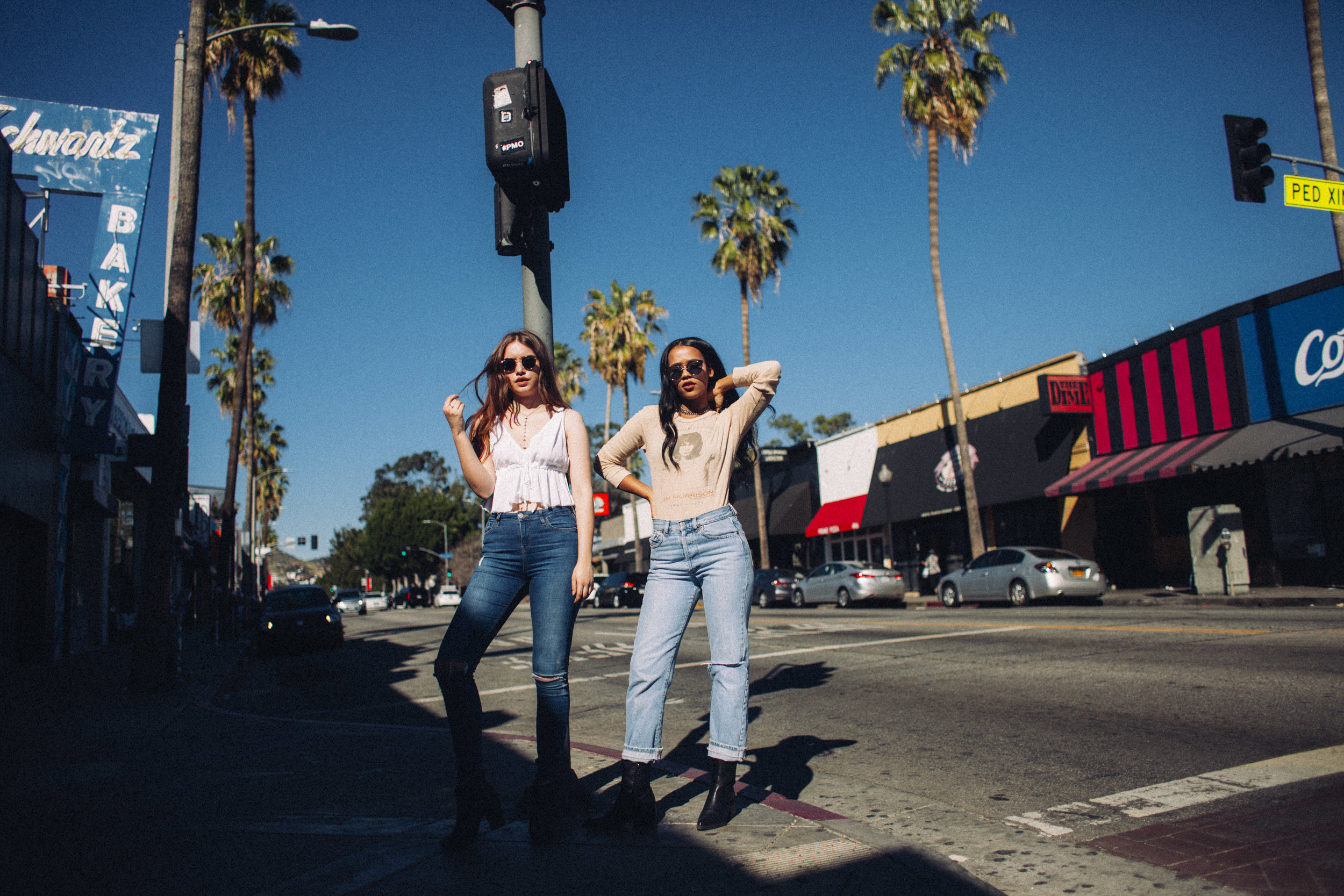 the girl band in LA