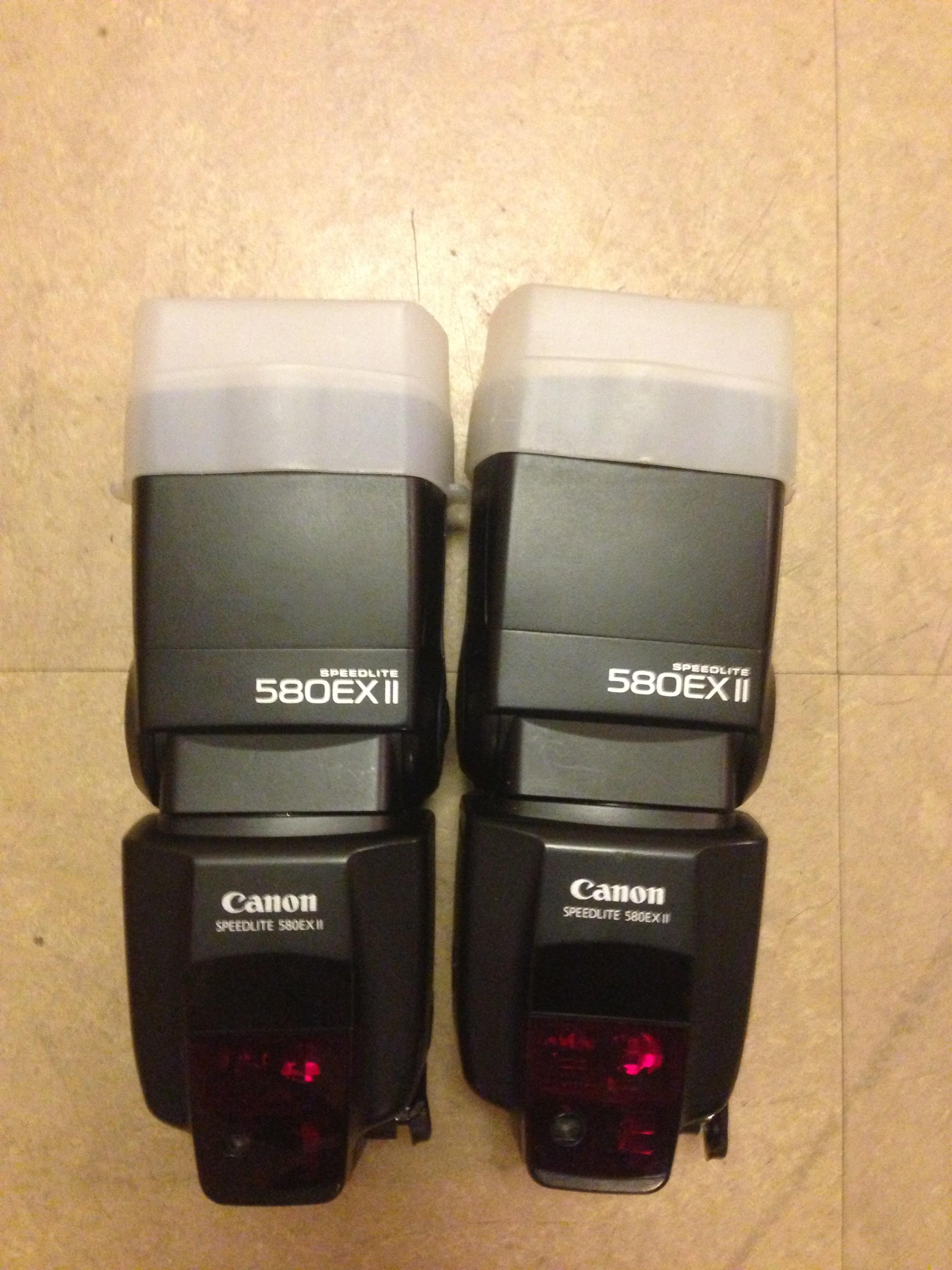 """""""Canon 580exII Speedlites"""" (2)"""