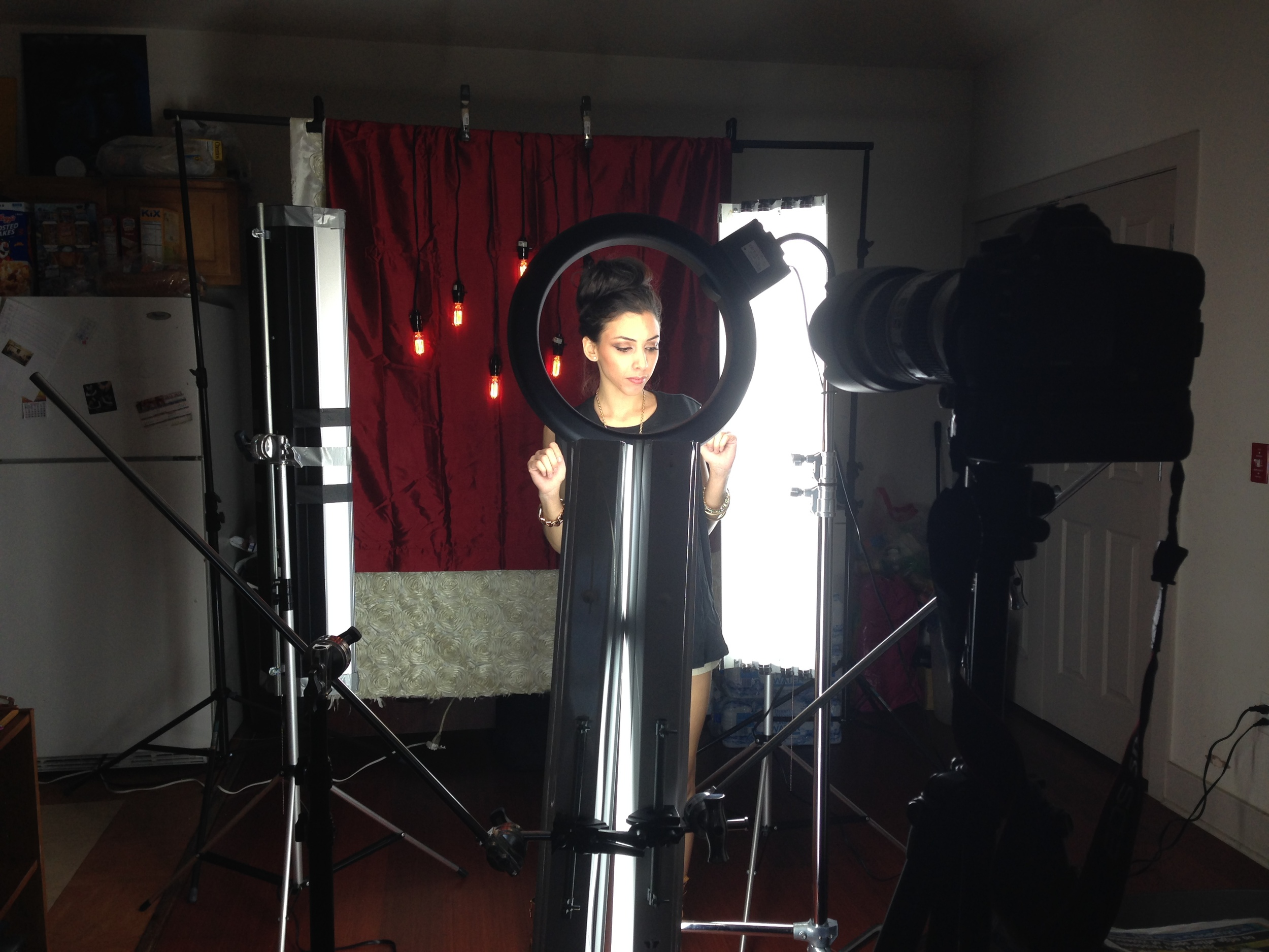 """BTS. """"How to achieve amazing catch lights in the eyes PT3"""""""