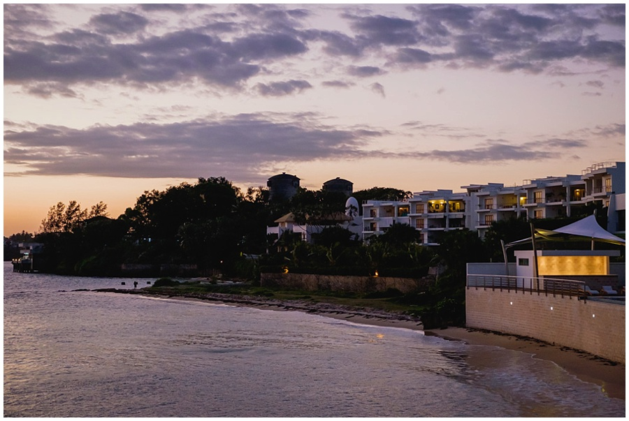 English Point Marina Sunset in Mombasa, Kenya.