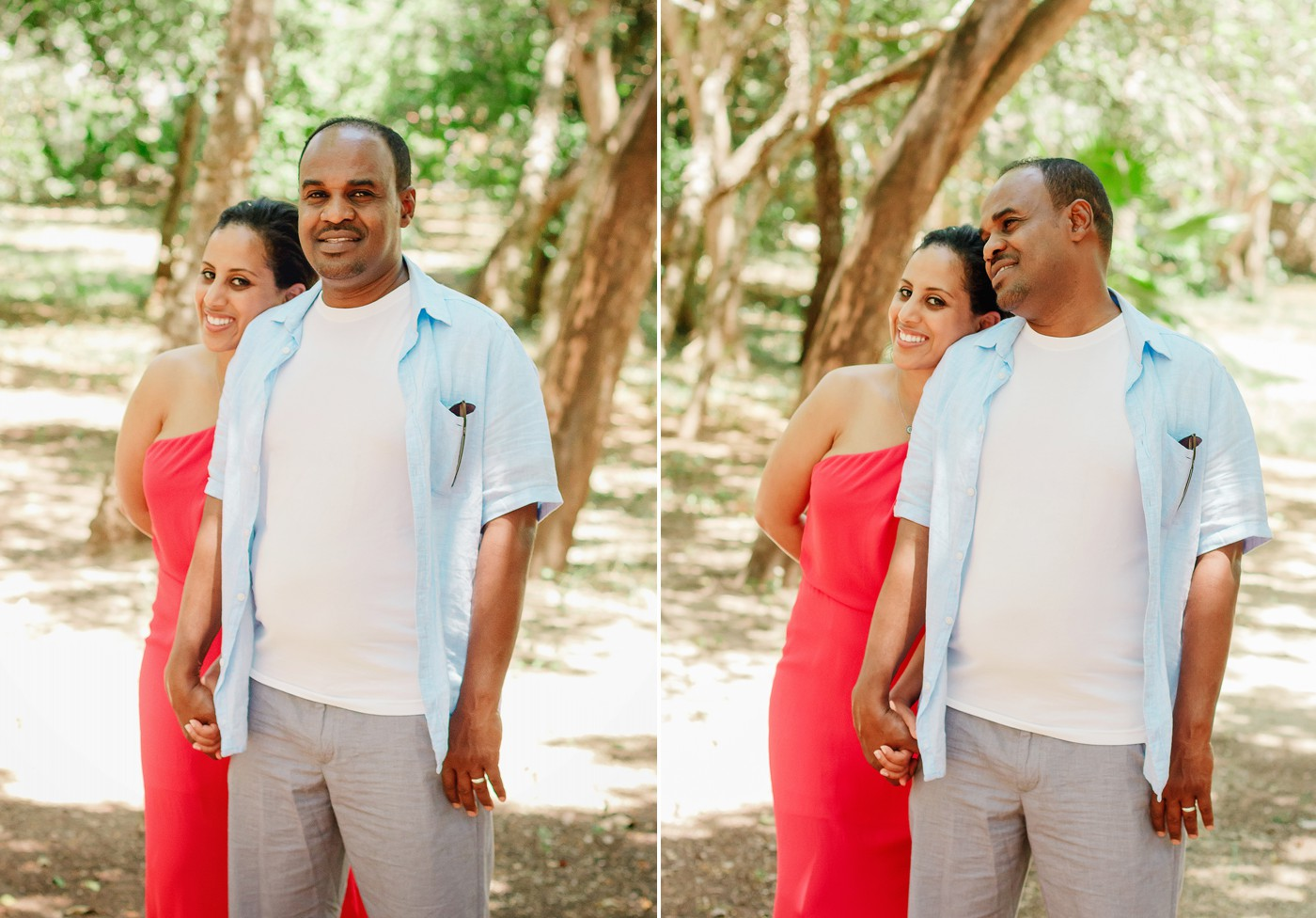 This adorable pair are planning a spectacular Honeymoon in Diani Beach.