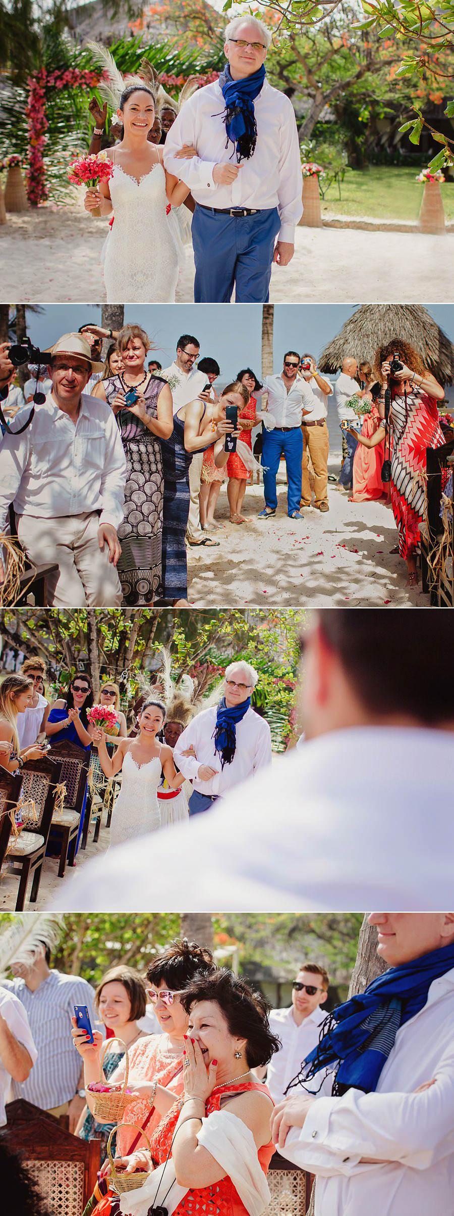Романтическая русско-кенийская свадьба на пляже Малинди, Кения. Фотограф Лола Коляда.