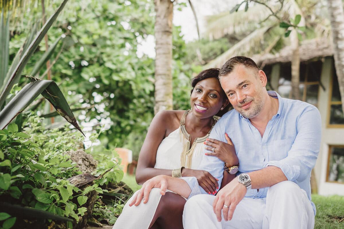 Kenyan Engagement Diani Beach