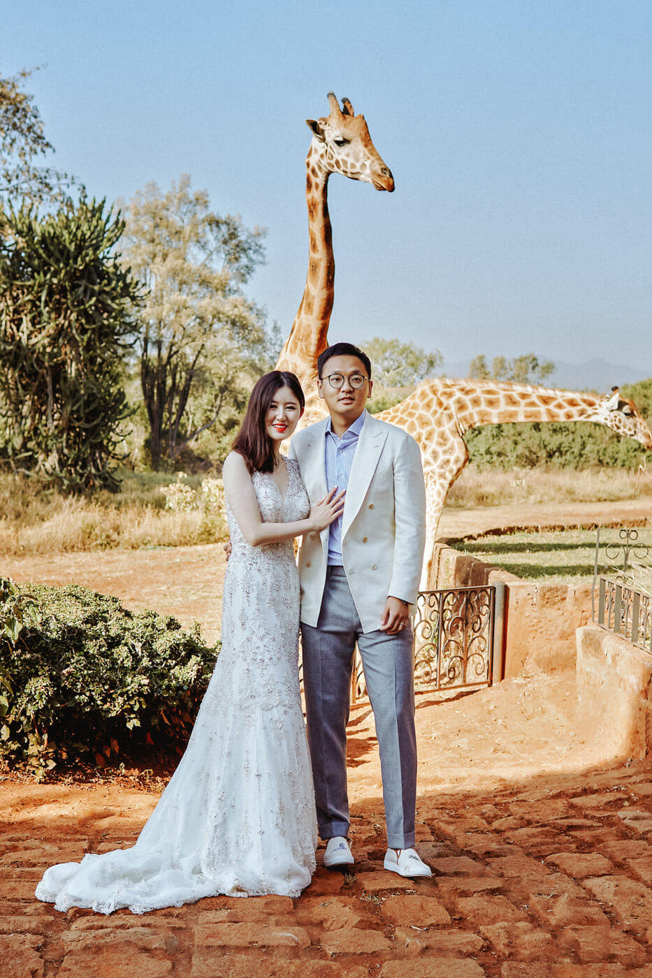 Giraffe Manor Photography Best Safari Wedding Photo Session Award Winning Fashion Female Destination Kenyan Top Kenya Wedding Photographer
