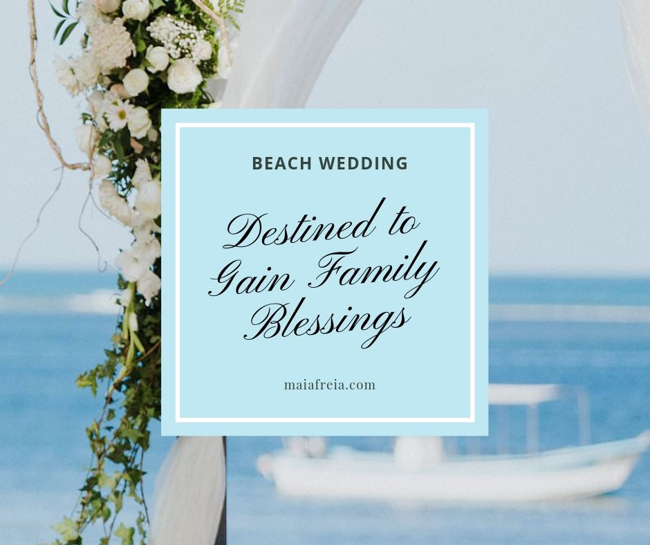Beach Ceremony Wedding Destined to Gain Family Blessings