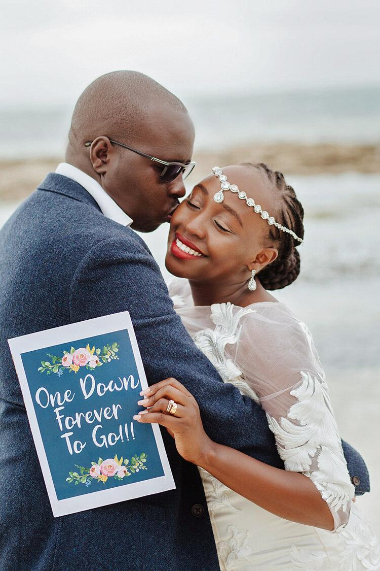 Anniversary Photo Session Medina Palms Watamu Kenyan Wedding Photographer