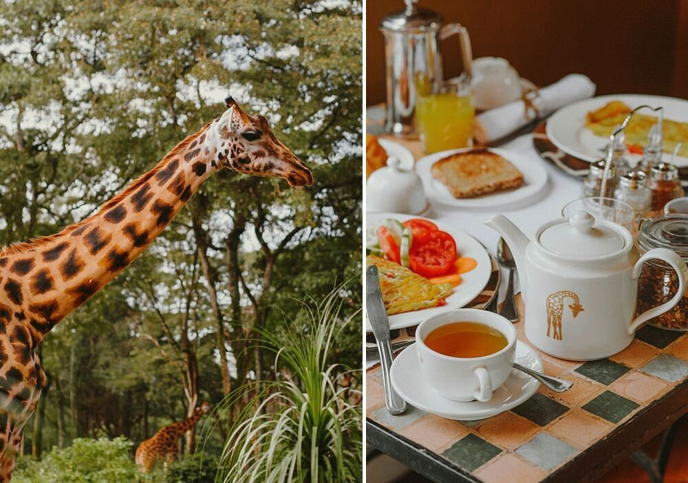 Giraffe Manor has always been her dream destination in East Africa, idyllic and charming and the best location for photography, it is like a fantasy world. And so, here we are, laughing together during breakfast with the best weekend company, Giraffes. Call me a hopeless romantic, but Giraffe Manor is a truly fabulous location to spend the weekend with your best girls!