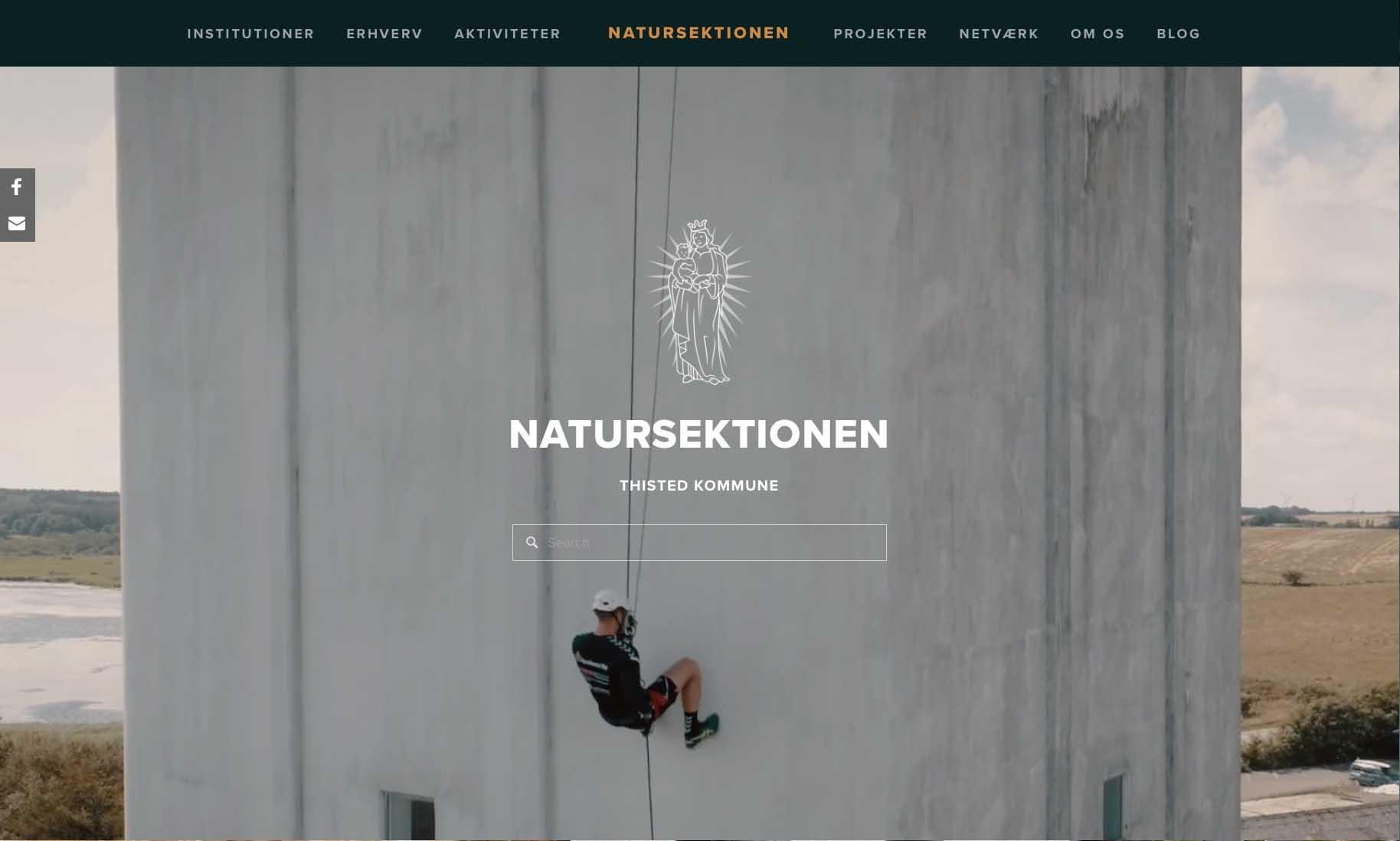 Website: Natursektionen, Thisted Kommune