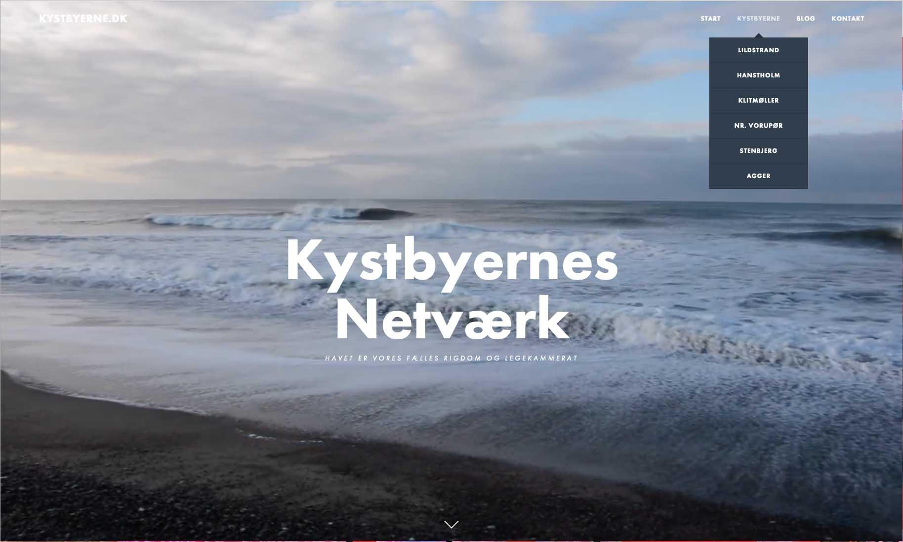 Website: Kystbyernes Netværk