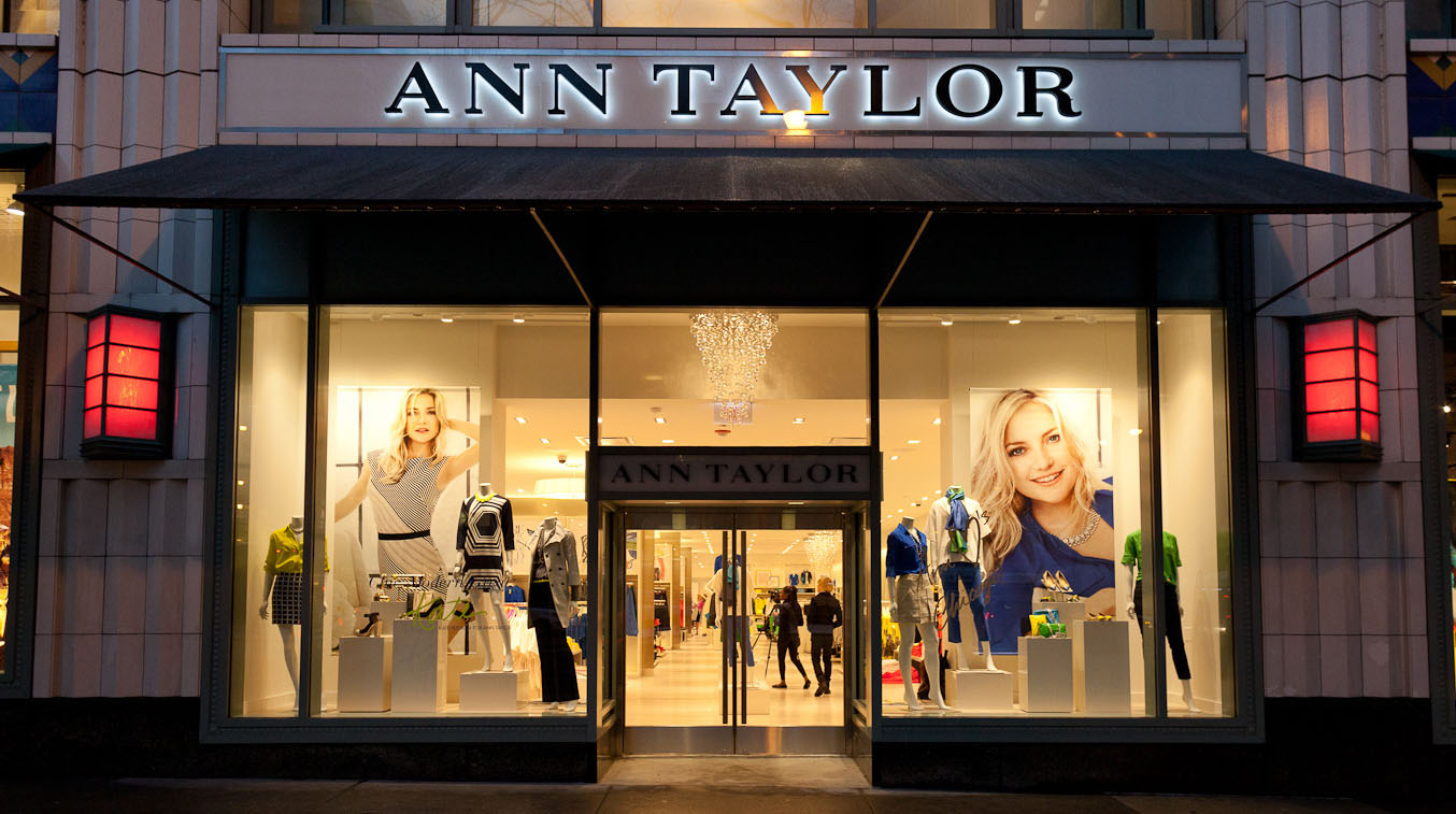 Ann Taylor store front