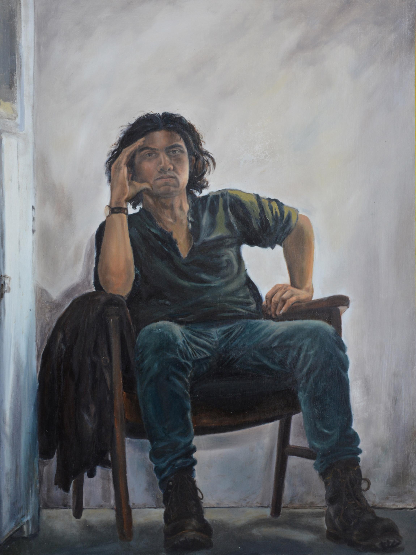 """Self Portrait"" by Illya Mousavijad"