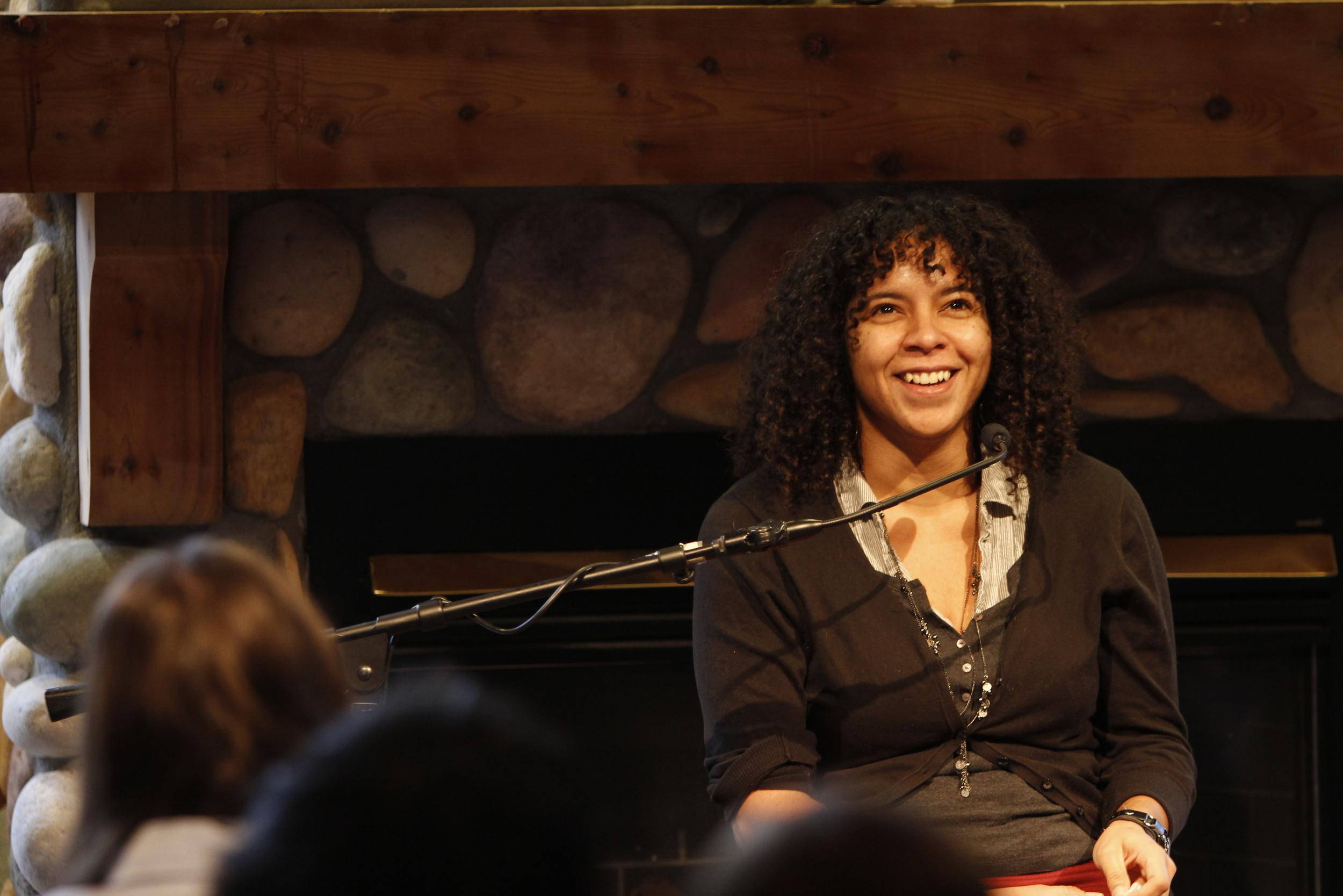 Francine Harris at Interlochen Arts Academy, November 2013.