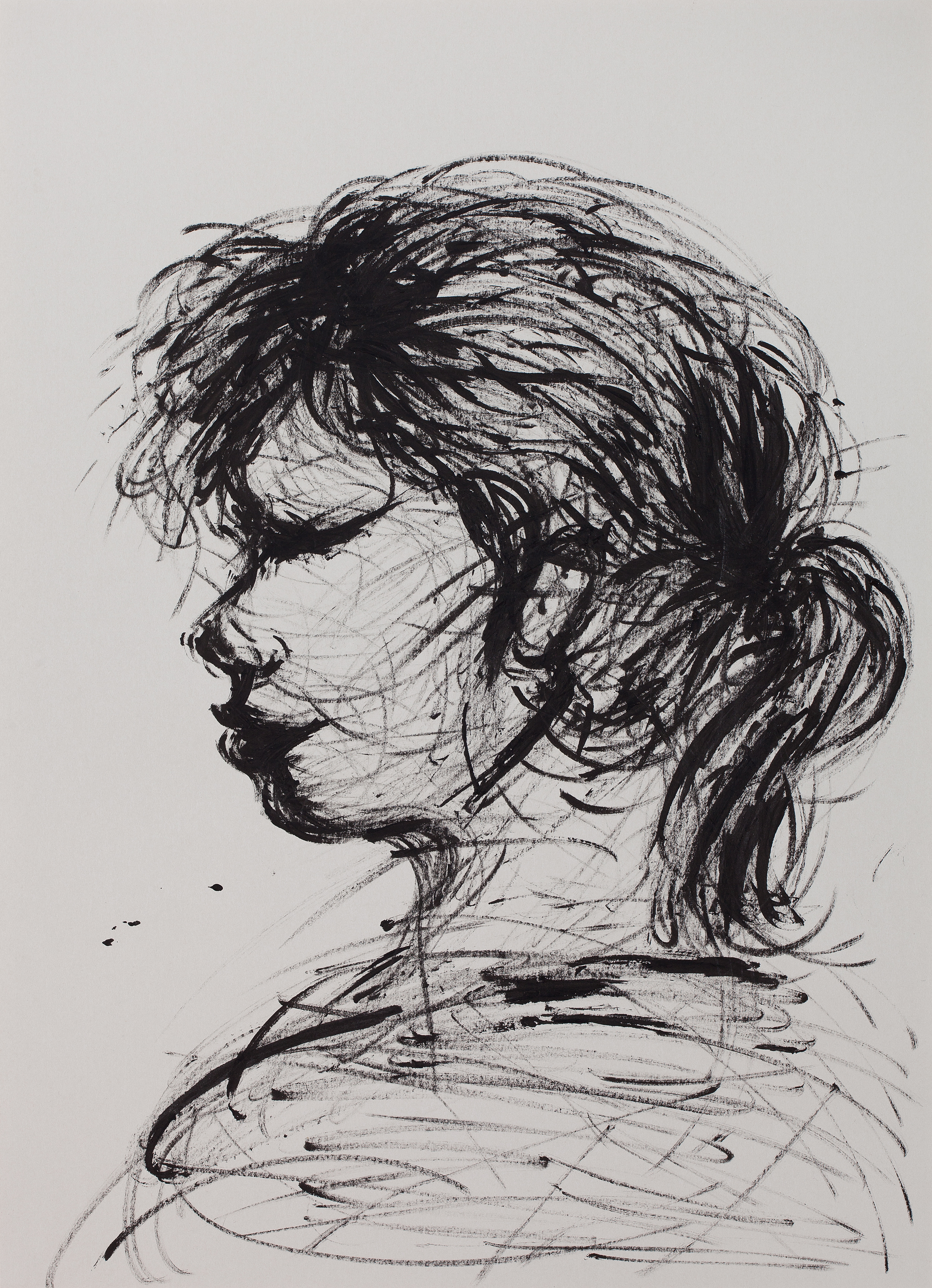 Croquis Figure (ink)