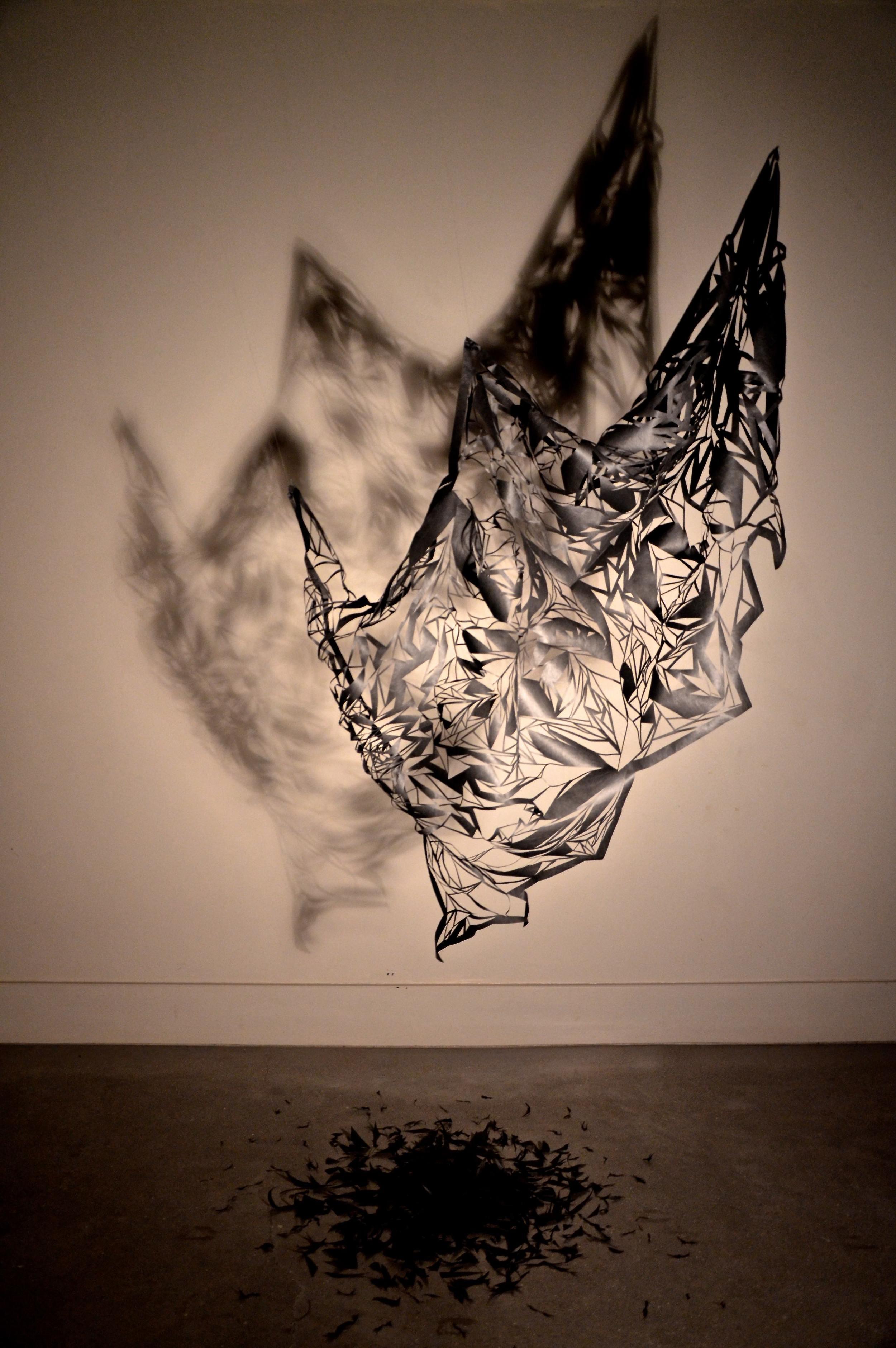 Reflection (hand cut Tyvek).jpg