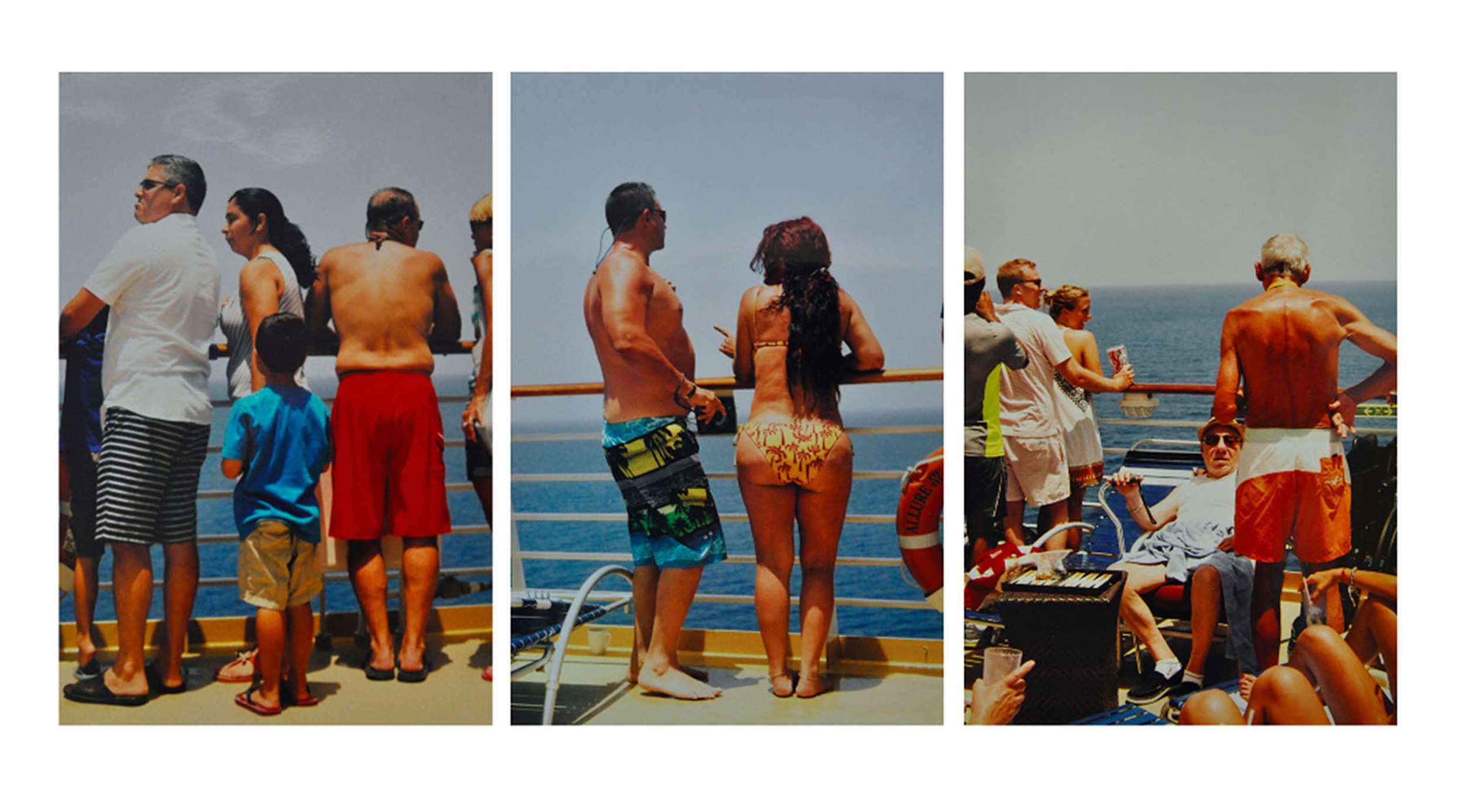 Cruise Goers Watching Cuban Refugees.jpg
