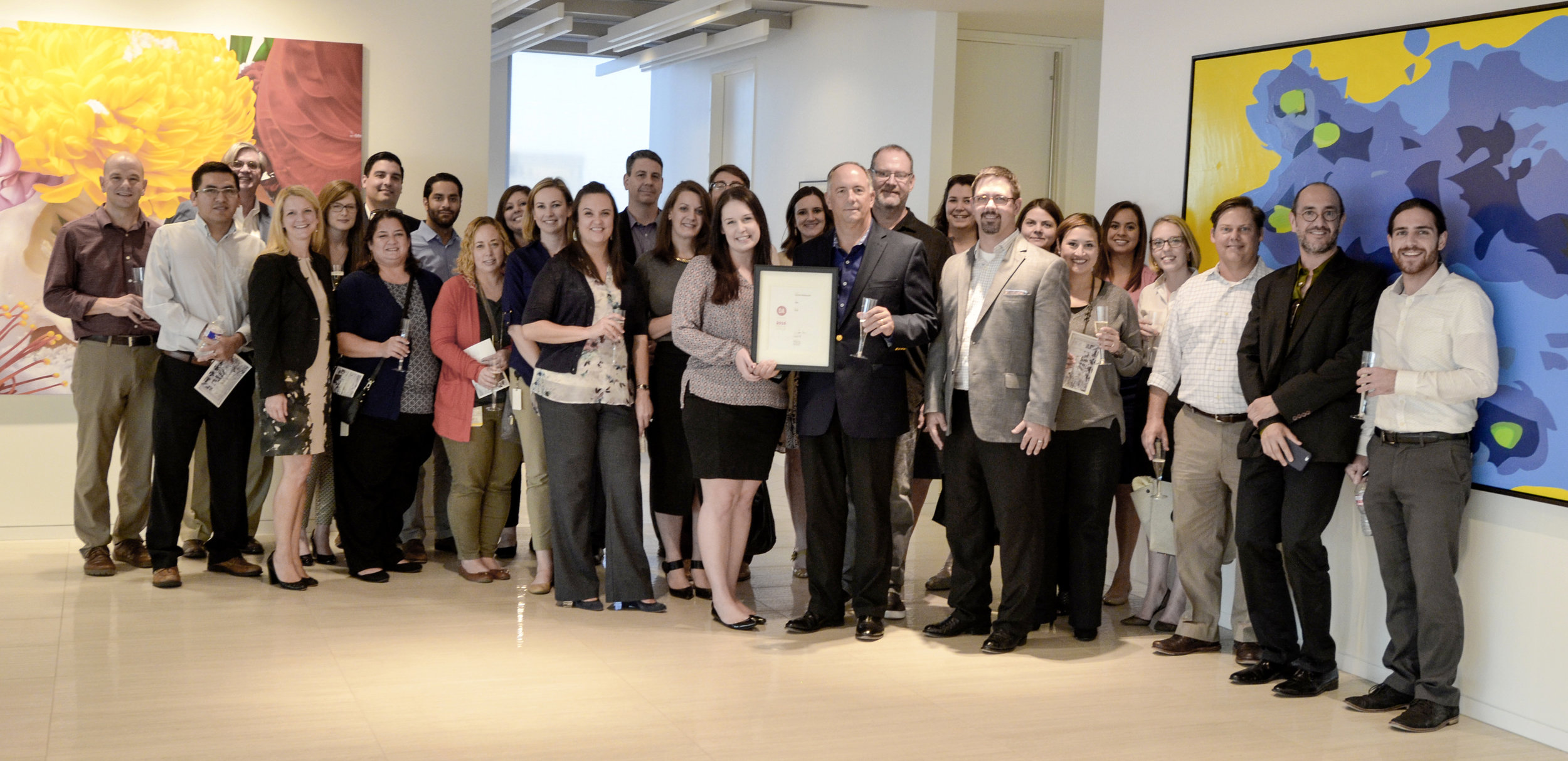 PDR celebrates AIA Houston Design Excellence Award and the Architectural Record, Records Interior Award and issue together with Vitol.