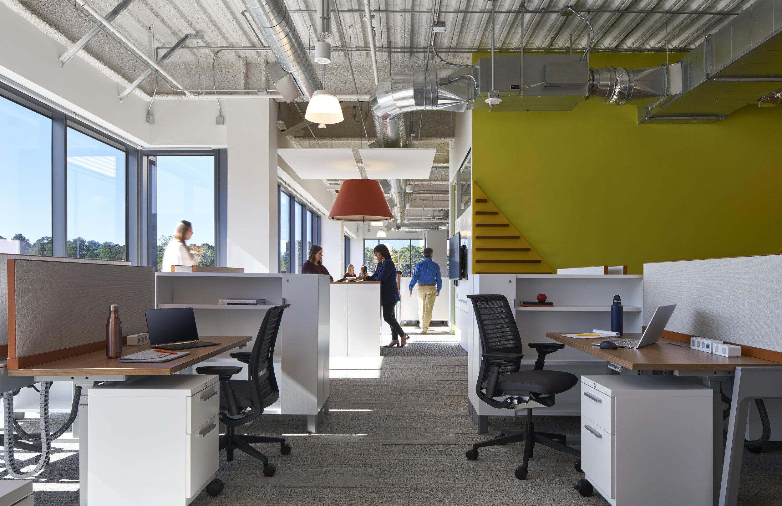 Work Stations, Photo Credit: Scott McDonald @ Gray City Studios
