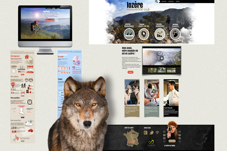 LOZÈRE NOUVELLE VIE : le site Lozere Nouvelle vie, outil de promotion de destination, pas seulement touristique ;-) !