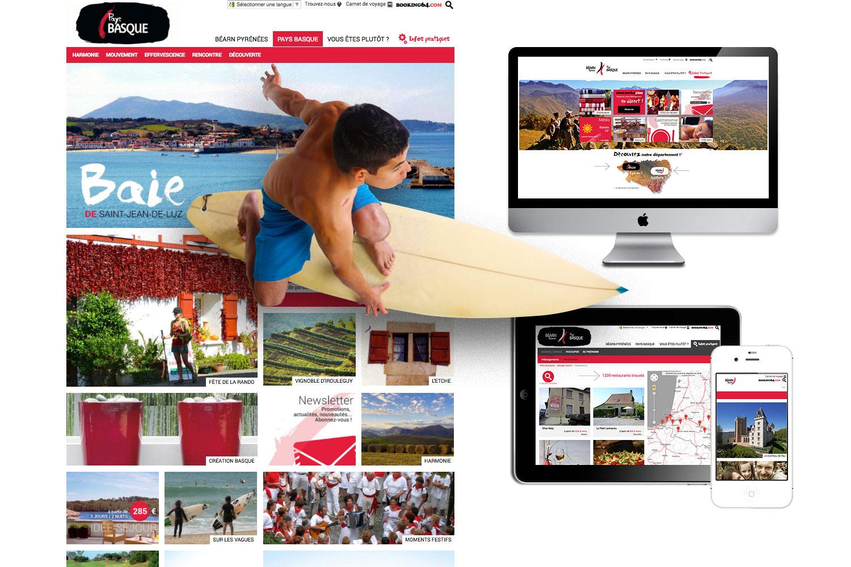 Tourisme64.com : le nouveau site de Béarn-Pyrénées Pays Basque.