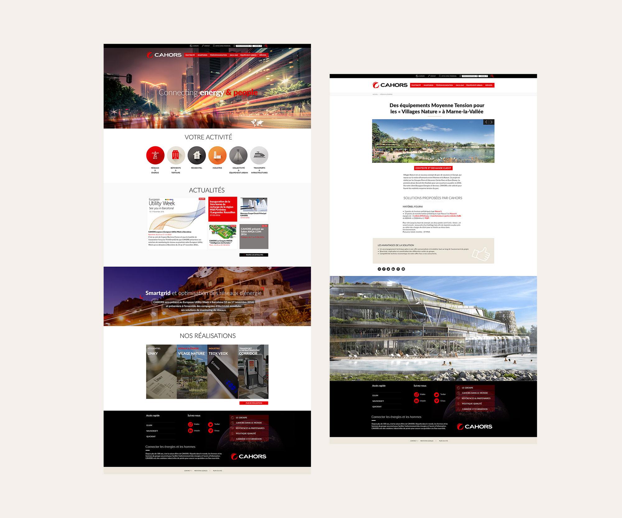 Copy of Webdesign GROUPE CAHORS
