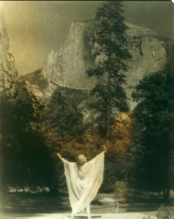 Ruth St. Denis in Yosemite Valley. (1919-1920).jpg