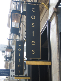 Hotel Costes in Paris France
