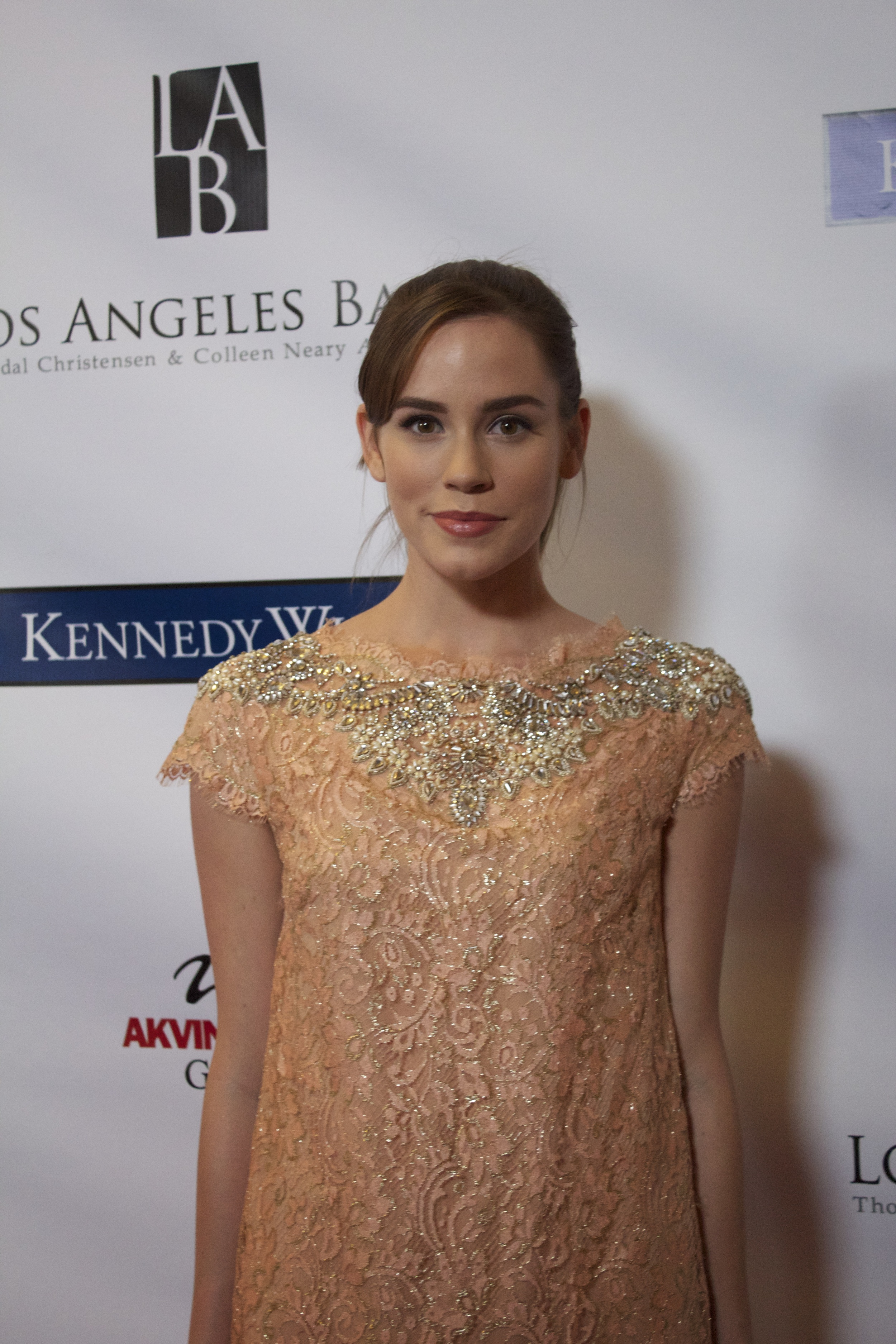 Christa B. Allen supporting the Los Angeles Ballet