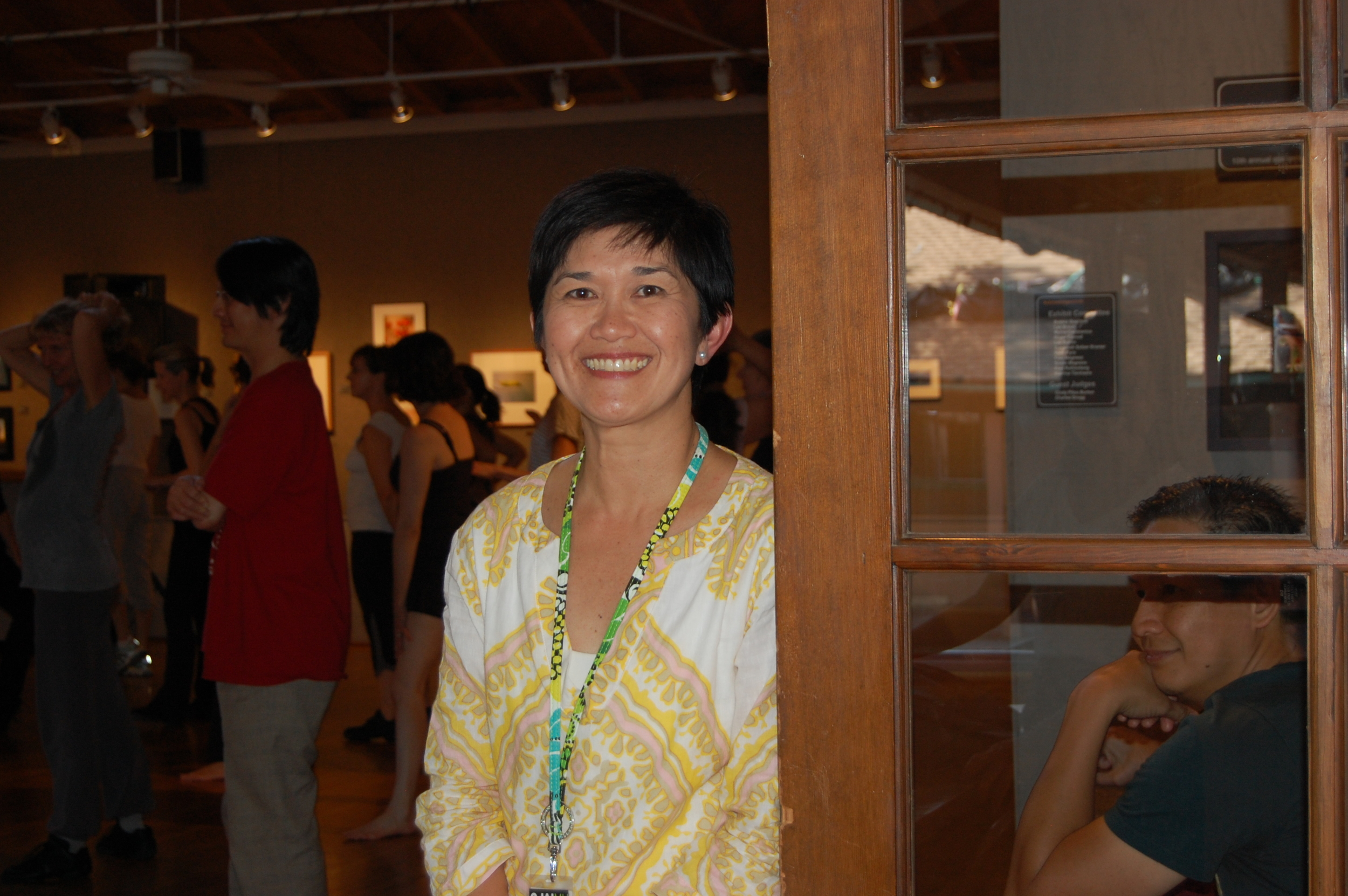 Ojai Music Festival's Gina Gutierrez Director of Marketing and Communications.