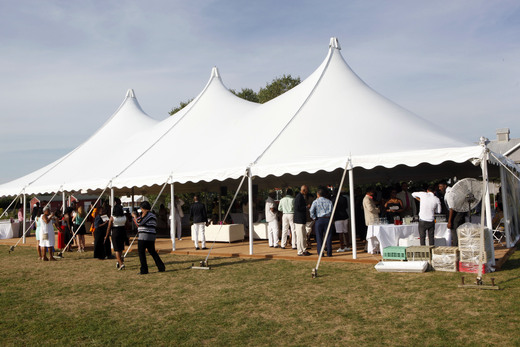 The Tent. Photo Credit Getty Images