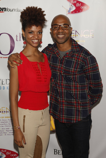 Ailey dancers Fana Tesfagiorgis and Matthew Rushing. Photo Credit Getty Images