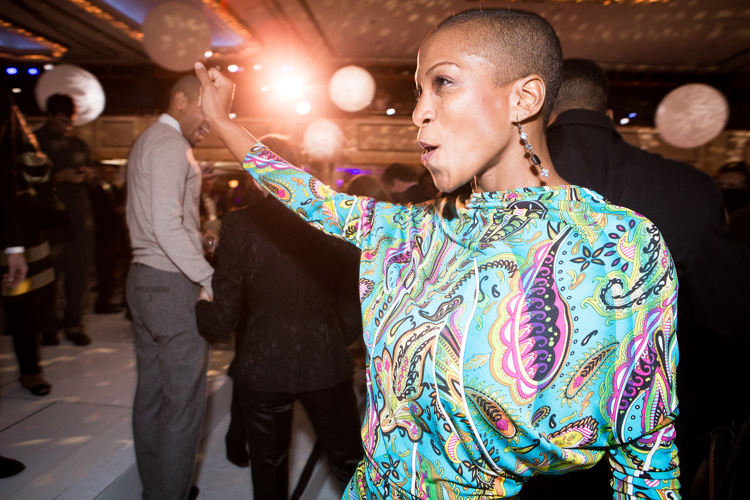 Akua Noni Parker at Alvin Ailey American Dance Theater's 2013 Opening Night Gala.  Photo by Dario Calmese